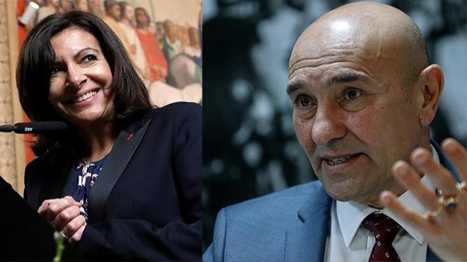 İzmir-Paris hattında 2 dilde dayanışma: Hidalgo dan kutlama, Soyer den teşekkür ve davet