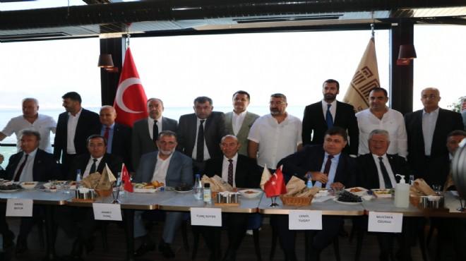 İzmir'de İMAF-başkanlar buluşması