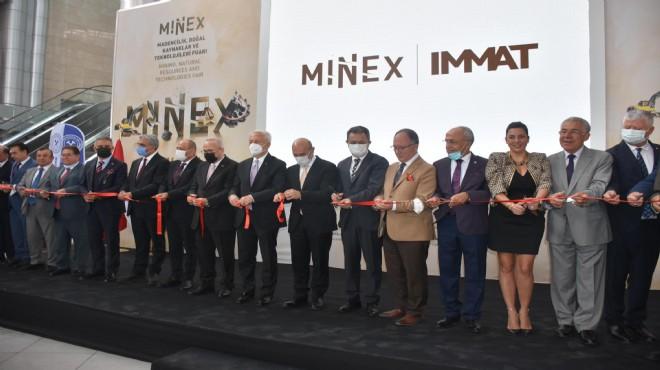 İzmir'de Madencilik Fuarı kapılarını açtı