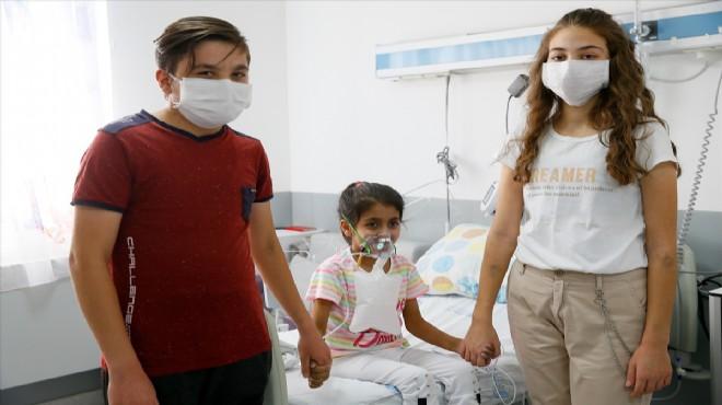 İzmir'de çocuk hastaların