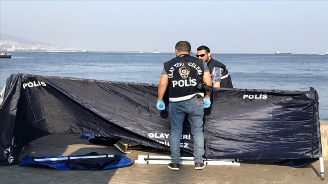 İzmir'de dehşet: Denizden ceset çıktı!