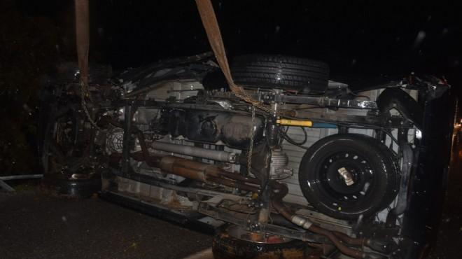İzmir de korkunç kaza: Ünlü sanatçının eşinin yaşamını yitirdi