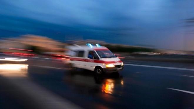 İzmir'de iki korkunç kaza: 3 ölü, 3 yaralı!