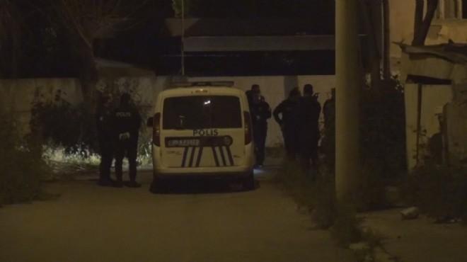 İzmir'de metruk binaya kumar baskını!