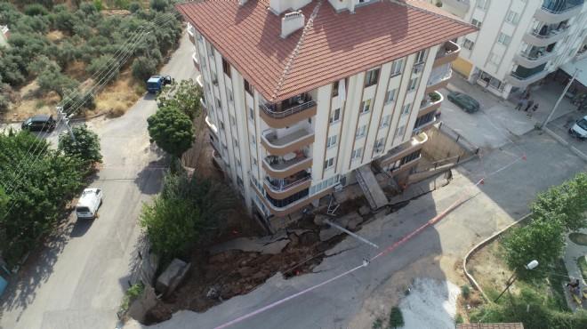 İzmir'deki 'istinat duvarı paniği'nde son durum
