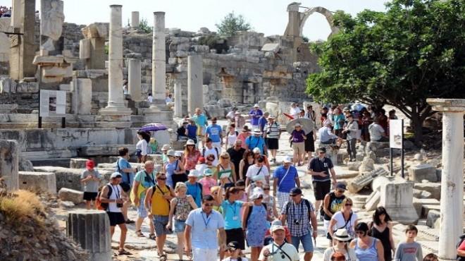 İzmir'e gelen turist sayısında sevindiren artış