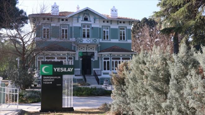 İzmir'in Yeşil Köşk'ü bağımlılıkla mücadelenin merkezi oldu