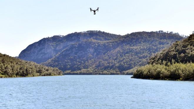 İzmir'in barajları drone ile koruma altında!
