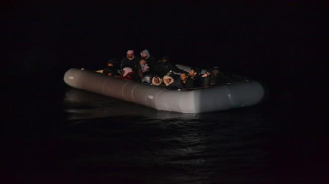 İzmir sularında 24 hayat kurtaran operasyon!