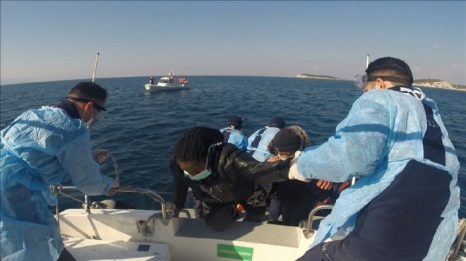 İzmir sularında 53 hayat kurtaran operasyon!