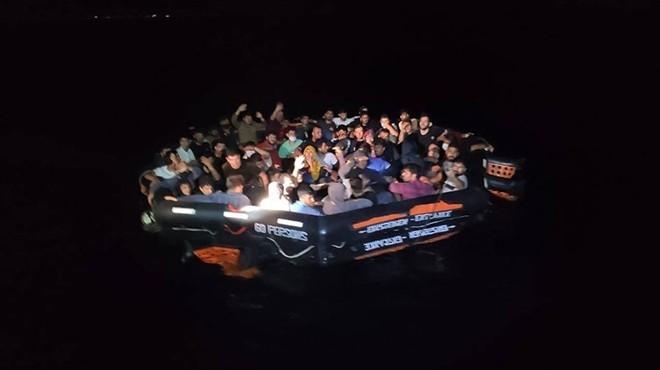 İzmir sularında can pazarı: 388 sığınmacı kurtarıldı