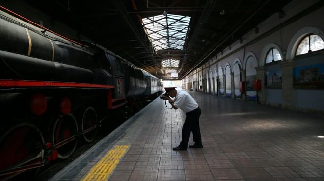 Kara tren o fotoğraflarla ölümsüzleşti