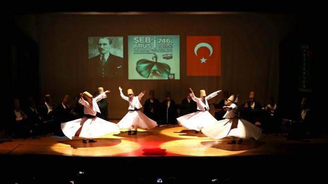 Karşıyaka'da Mevlna gecesi