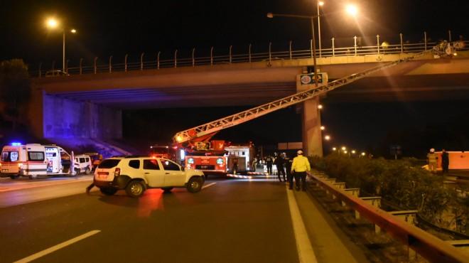 Köprüde intihar girişimi: 1 saatte ikna edildi