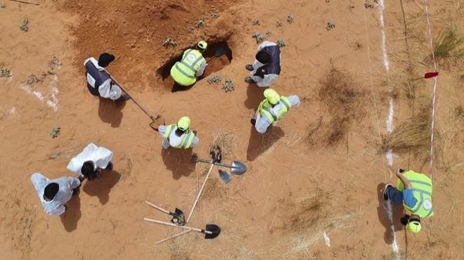 Libya'da toplu mezarlar: 23 günde 208 ceset!