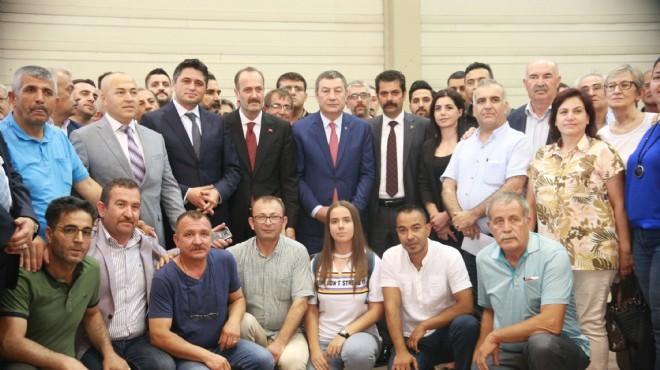 MHP İzmir'de yeni vekillerden mazbata mesajları!