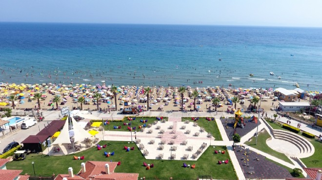 Menderes sahilleri yeni tesislere kavuştu