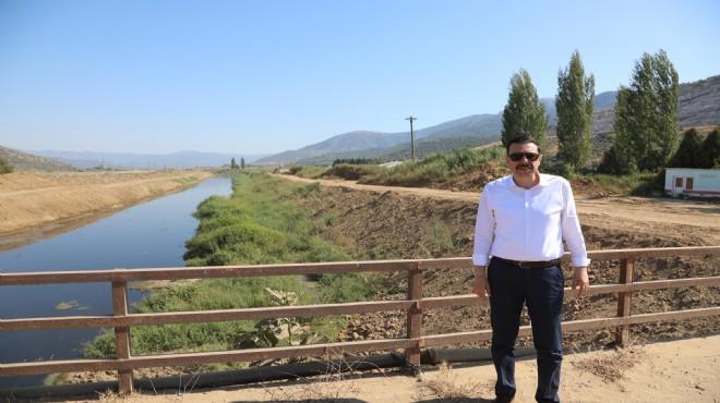 Menderes'teki kirliliğin çözümü için el ele veriliyor