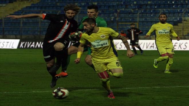 Menemen'den Adana'da 3 gollü galibiyet