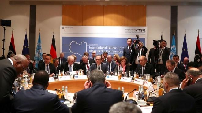 Münih'te kritik 'Libya' zirvesi: Tüm taraflar...