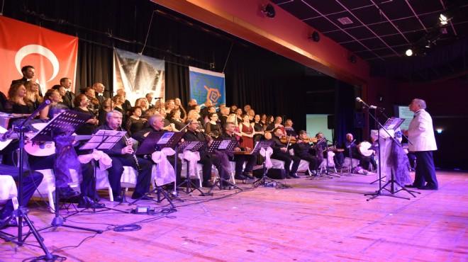Narlıdere TSM Korosu'ndan muhteşem konser
