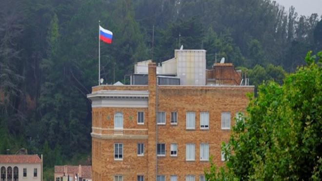 Rusya ABD Konsolosluk Binamza El Koydu