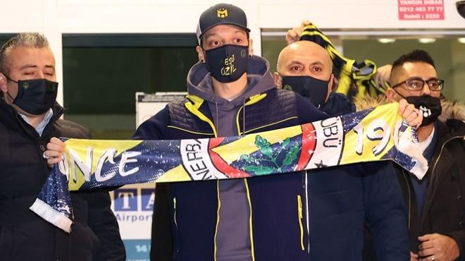 Rüya gerçek oluyor: Ve Mesut Özil İstanbul'da!