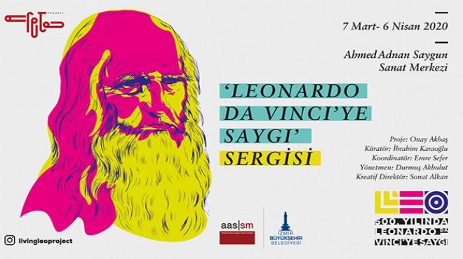 Saygı sergisi: Leonardo Da Vinci İzmir'e geliyor!
