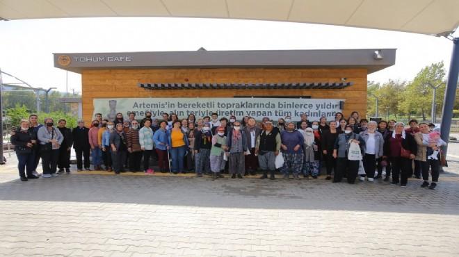 Selçuk'un kadın üreticileri Yaşam Köyü'nde buluştu