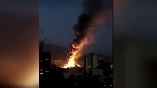 Tahran'da klinikte patlama: 19 ölü
