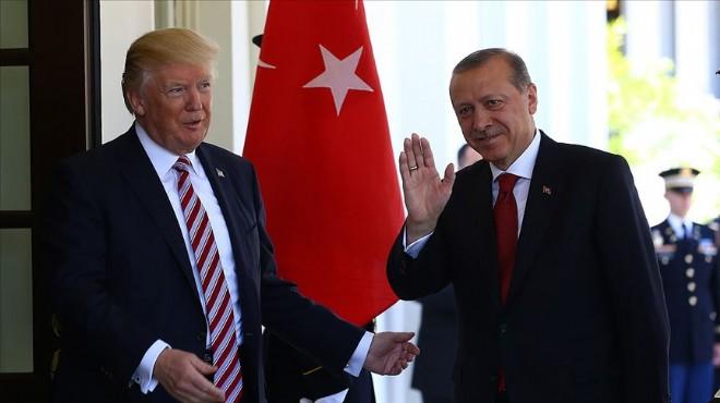 Trump Erdoğan ile zirvenin tarihini açıkladı