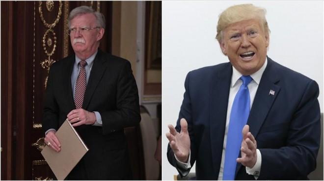Trump ile fikir ayrılığı Bolton'ı koltuğundan etti!