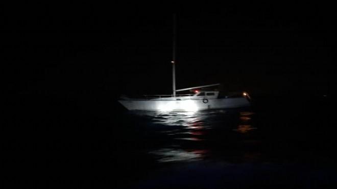 Urla'da 62 kaçak göçmen yakalandı