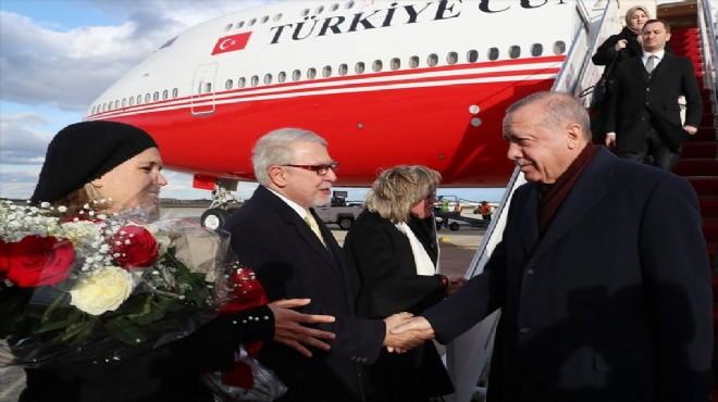 Ve Cumhurbaşkanı Erdoğan ABD'de