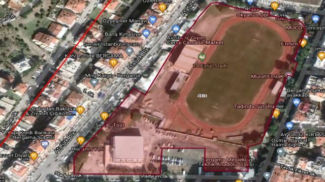 Ve planlar askıda: İzmir'de eski stada millet bahçesi!
