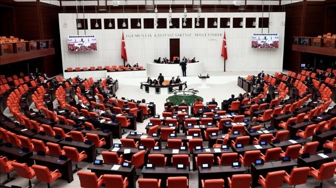 Vergi paketi Genel Kurul'da: İlk 45 madde kabul edildi