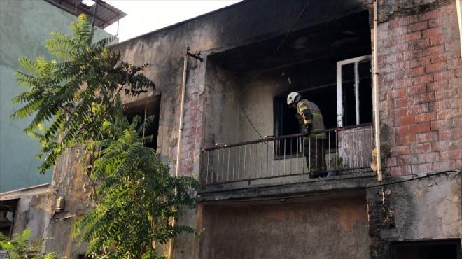 Yangın kabusu: Ev küle döndü!