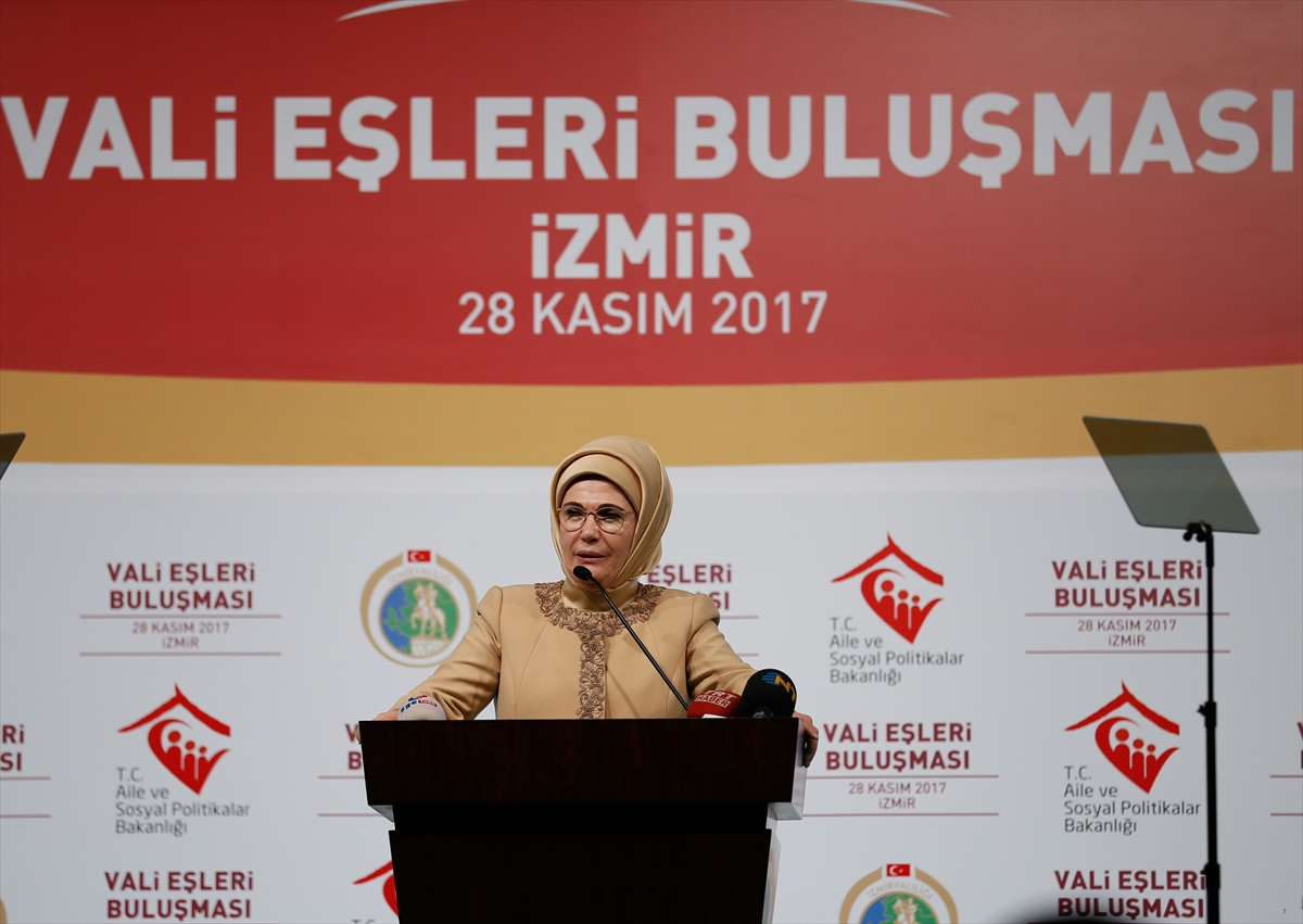 Emine Erdoğan dünya liderlerinin eşlerine seslendi